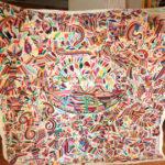 刺繍が生み出す物語。「テナンゴ刺繍」の巨大サイズを集めました!