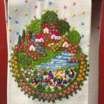 女の子に大人気!鮮やかな田園風景がかわいいミチョアカン刺繍