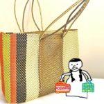 メキシコ風かごバッグ「メルカドバッグ」は、可愛くてとっても便利!