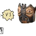 メキシコの仮面はおもしろい!⑦ 「本物」vs「お土産用」の仮面