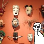 メキシコの仮面はおもしろい!⑧水木しげるが愛した木彫り仮面たち