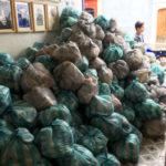 フチタンへ。400人分の支援物資の詰め込み&ちょっと信じられない話