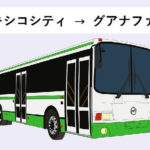 【メキシコシティ→グアナファト移動】バスの時間&値段、注意点も。